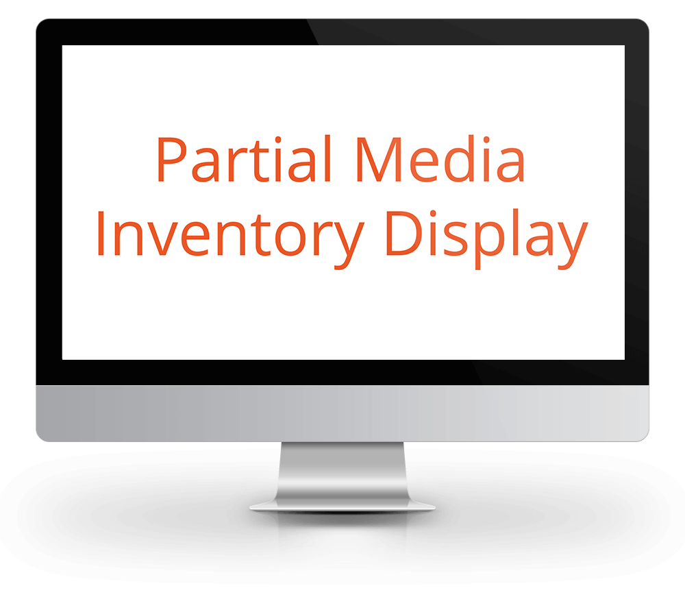 Partial Media Inventory Display DSP Promotion